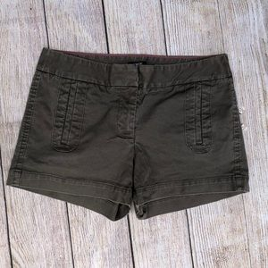 J. Crew | Stretch Shorts | Gray | Size 0